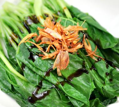 酥香蠔油拌青菜
