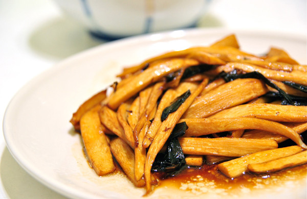sanchi_金鉤炒筍片